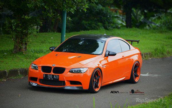 BMW M3 Halloween Orange by Antelope Ban