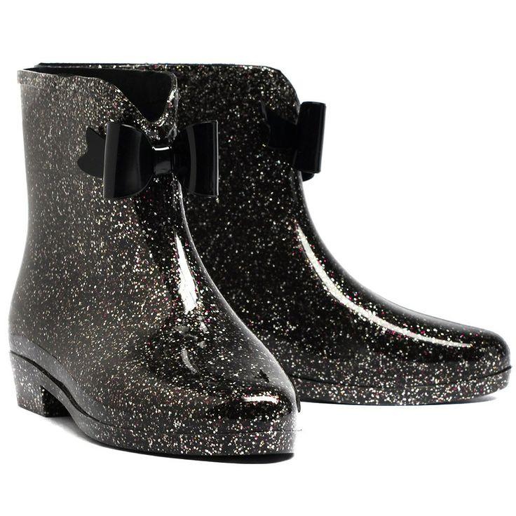 Karlw14 Black Glitter - All Boots - Boots
