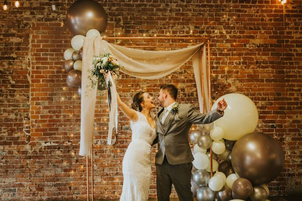 Fun and Modern Downtown Wedding Inspiration in Spokane, Washington
