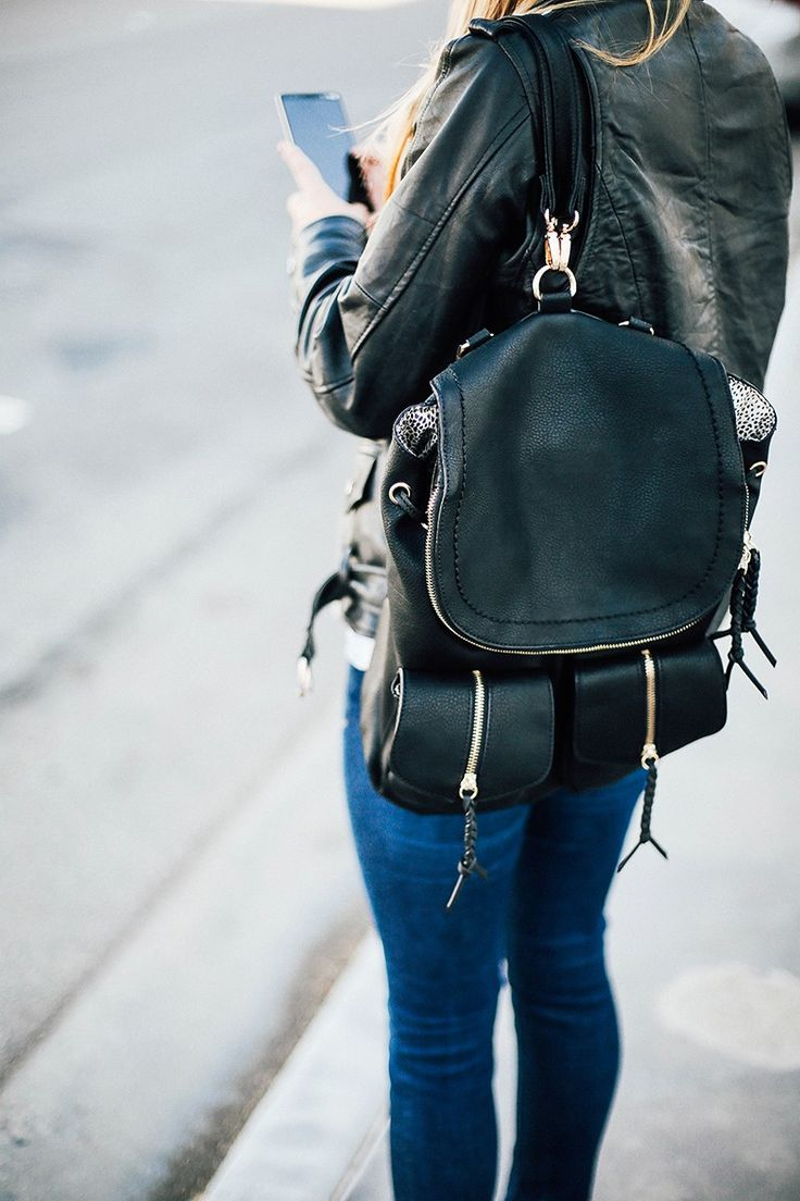 17 Best ideas about Chic Backpack on Pinterest | Leather backpack ...