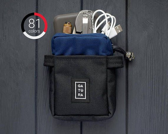 Mens pouch bag  EDC carrying pouch from Cordura. For keys