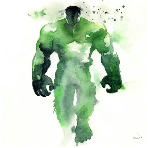 Incredible Hulk. We relate so well.