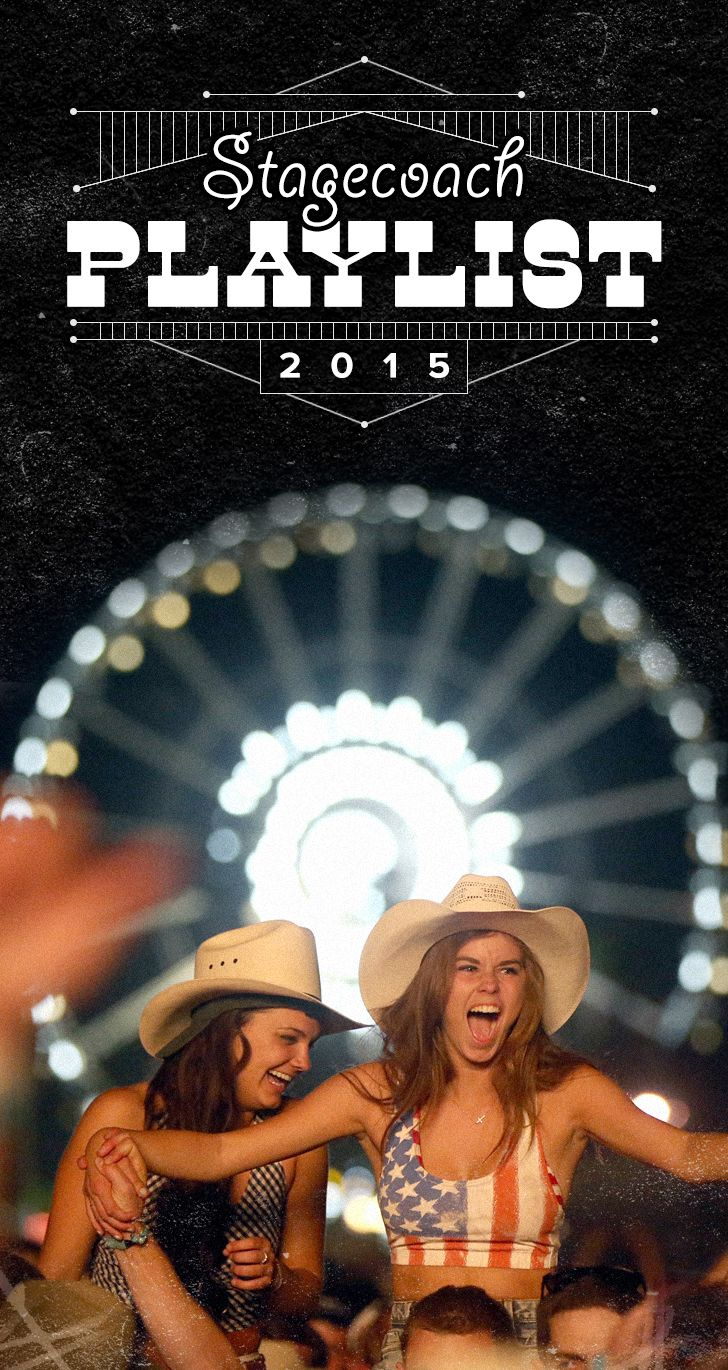 Stagecoach Music Festival 2015 Playlist