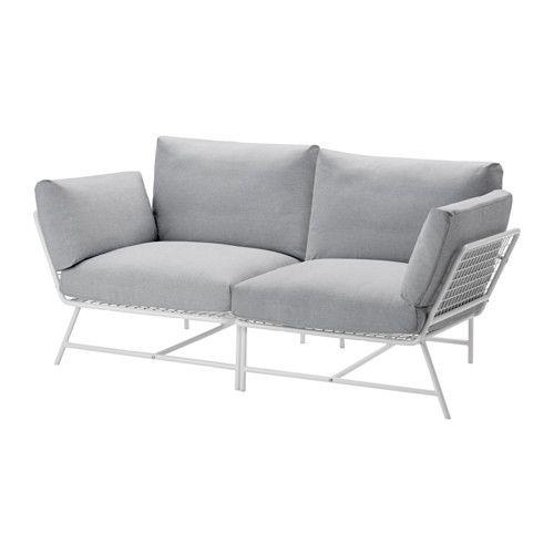 IKEA - IKEA PS 2017, 2-sists soffa, Antiglidmaterial på undersidan håller plymåerna på plats.Plymåerna av kallskum och polyesterfiber ger bekvämt stöd åt din kropp och återfår sin form när du reser dig.Klädseln är lätt att hålla ren eftersom den är avtagbar och maskintvättbar.