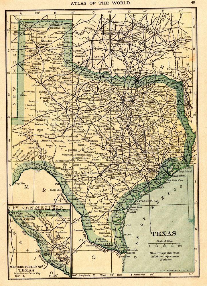 Más De Ideas Increíbles Sobre Texas State Map En Pinterest - Mapas de texas
