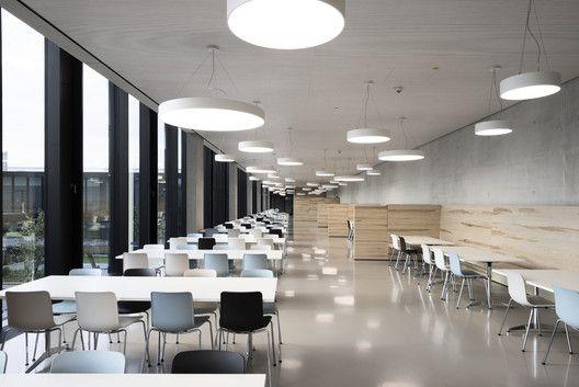 12 best types canteens images on pinterest canteen architecture galeria de fbrica hawe kaufbeuren barkow leibinger 1 malvernweather Choice Image
