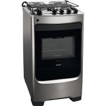 Cooker 4 Bocas Consul CFO4NAR Stainless Steel Automatic Ignition