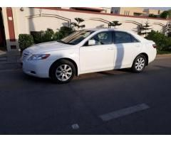 TOYOTA CAMRY 2008 MODEL WHITE FIRST OWNER FOR SALE