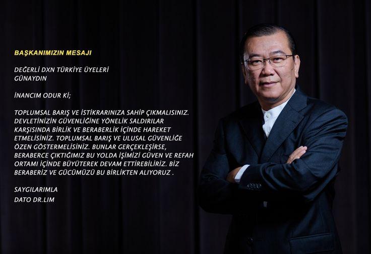 Dato Dr Lim Siow Jin mesaj