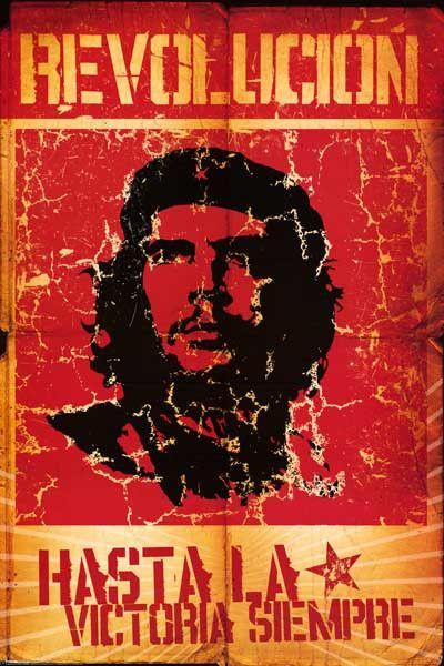 Che Guevara Revolution Pop Art Poster 24x36 – BananaRoad