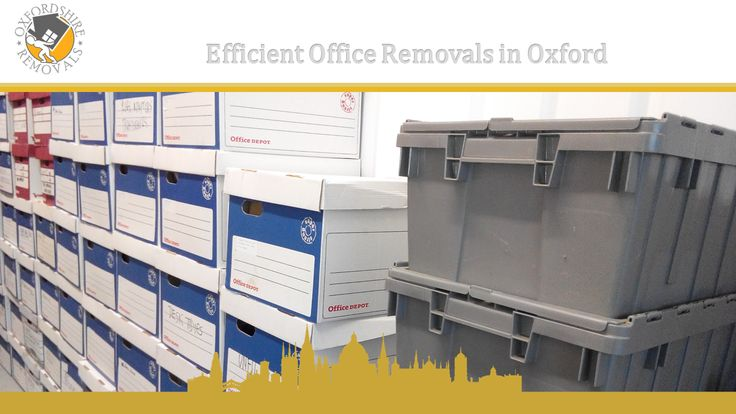 Efficient Office Removals in Oxford