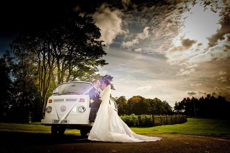 VW Camper van - Photography by Elemental Weddings, Katrina & Stuart