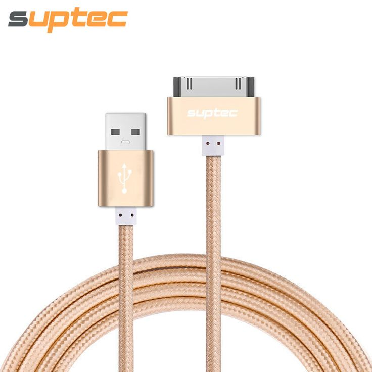 USB Cable for iPhone 4 4s iPad 2 3 New iPad iPod 30 Pin Metal Plug USB Charge Cable for iPhone 4 Nylon Wire Charging Data Cable *** This is an AliExpress affiliate pin.  Click the image to find out more on AliExpress website