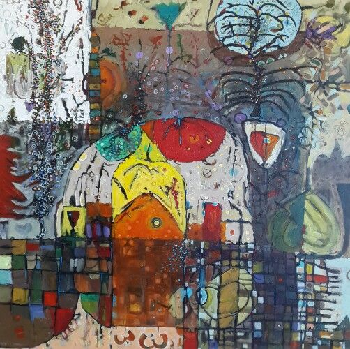Hussein Salim / acrylic on canvas
