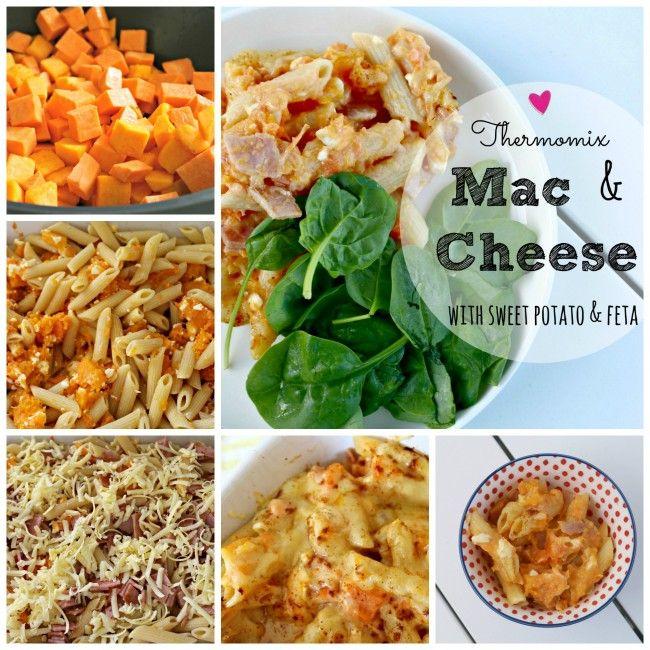 Mrs D plus 3 | Thermomix sweet potato Mac and Cheese | http://www.mrsdplus3.com