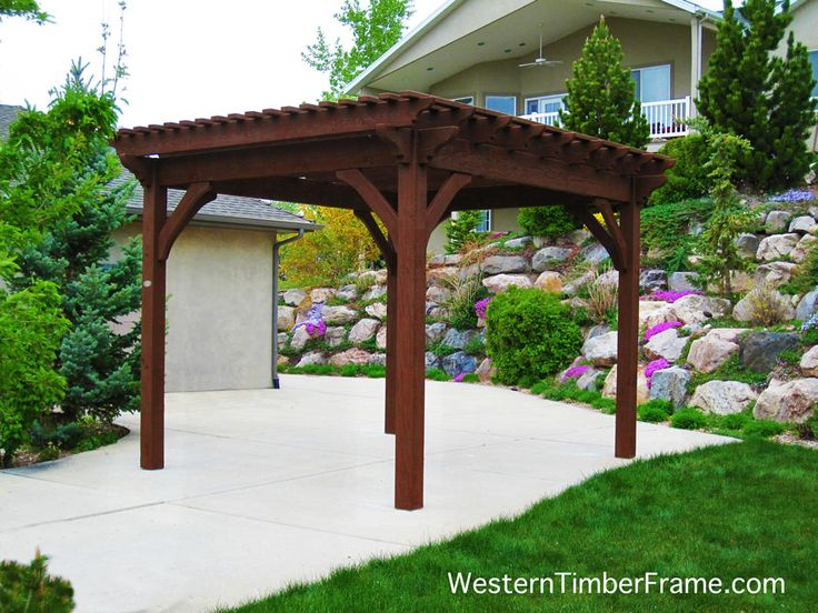 421 Best Free Standing Pergolas Images On Pinterest