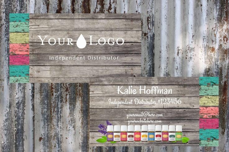 Multi Wood   Young Living Essential Oils   Business Card      Printable     Download    Template by ShesBackAtIt on Etsy https://www.etsy.com/listing/514606709/multi-wood-young-living-essential-oils