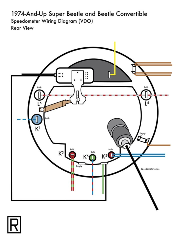 image may have been reduced in size click image to view With vw super beetle wiring diagram vw beetle speedometer wiring diagram vw