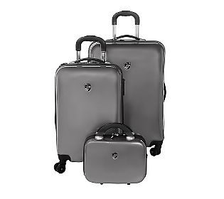Father's Day Gift??  -  Heys 3-Piece Hardside Spinner Luggage Set with Packing Cubes