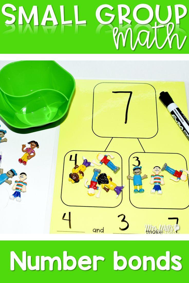Hands On Number Bond Activities Kindergarten Math Activities Number Bond Kindergarten Activities