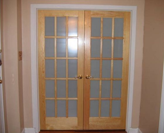 Frosted glass interior doors door style glass options for French door styles