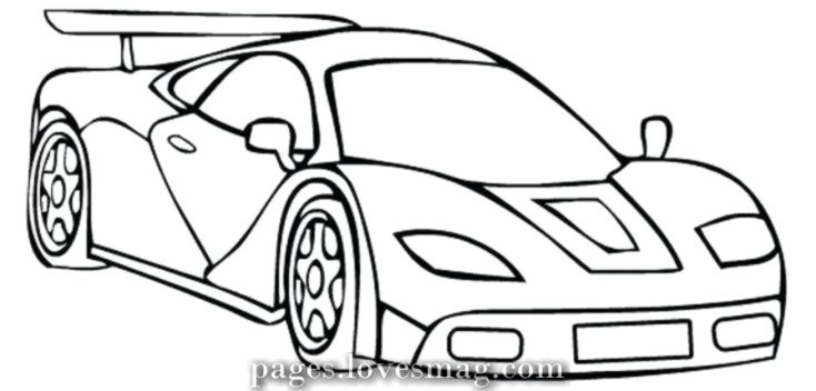 Excellent Automotive Coloring Drawings Concepts For Kids And