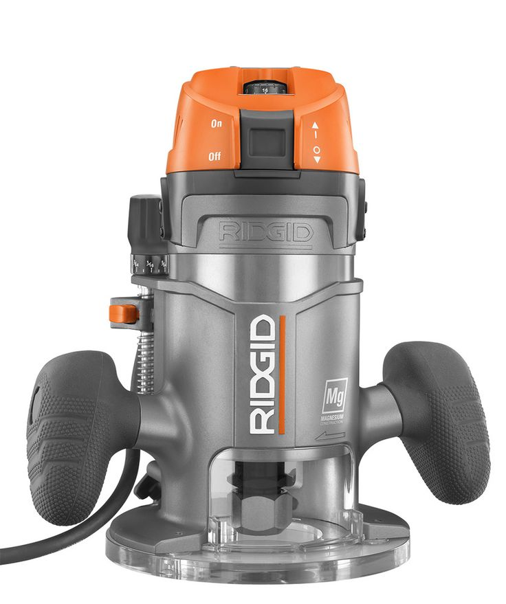 Heavy Duty 2HP Router - RIDGID Professional Tools