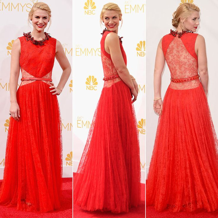 Claire Danes at the EmmysClaire Danese, Celebrities R Carpets Mo, Celeb Lookbook, Danese Givenchy, Celeb Hair, Celeb Style, Celeb Fashion, Danes Emmy, Danese Dresses