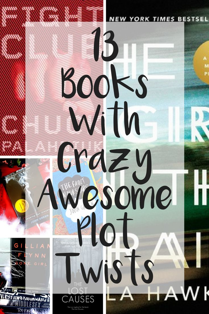 Thirteen books with amazing plot twists, turns, and secrets!