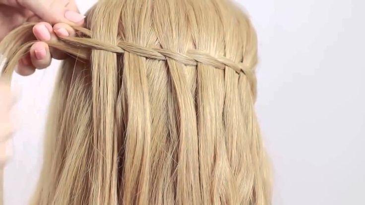 Trenza Cascada Paso a Paso | Waterfall Braid ♥ Hairfeed