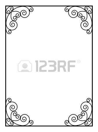 les 29 meilleures images propos de bordure cadre d corative sur pinterest fond noir mariage. Black Bedroom Furniture Sets. Home Design Ideas