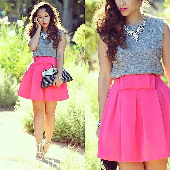 Kt Rcollection Pink Bow Skirt