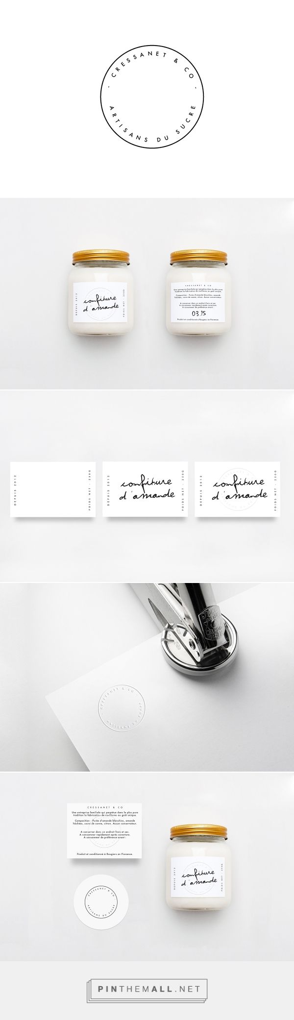 Cressanet & co - Artisanat on Packaging Design Served - created via https://pinthemall.net