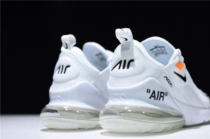 nike air max 270 triple white mens
