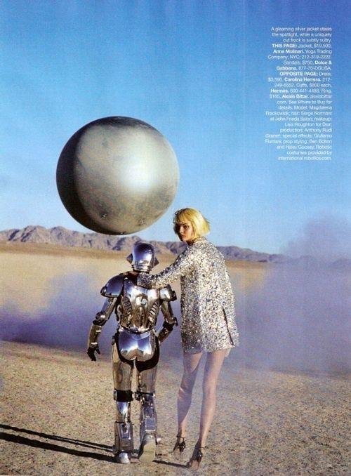 fashion magazine futuristic