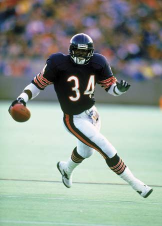 chicago bears walter payton - Simply the best. My favorite football player!!