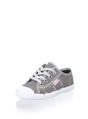 45% OFF Cienta Kid's Plaid Sneaker (Black)
