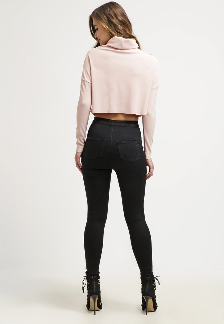 Missguided Long sleeved top - blush for £22.00 (07/03/16) with free delivery at Zalando