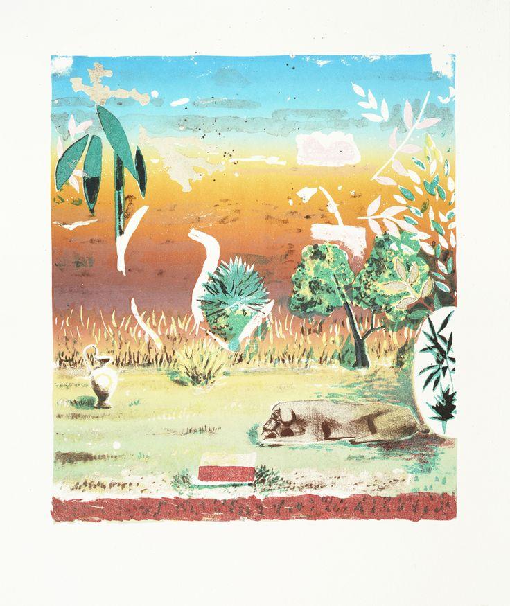 Маттиас Вайшер. Современное искусство. Современная живопись. Пустыня II, 2011