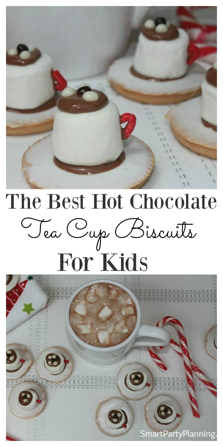 Hot chocolate tea cup biscuits are fantastic for Christmas entertaining and will prove to be a family favorite. They are super easy to make, and are great little treats for the kids.  Perfect to take to Christmas parties or kids school bake sales. It's on