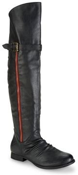 Style Under $50! Groove® Knee-High Riding Boot #fashion #style