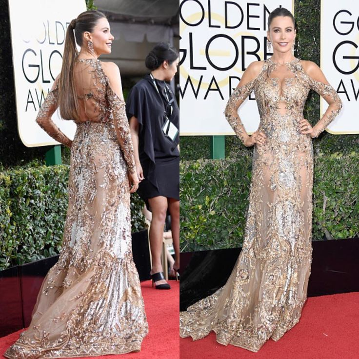 Sofie Vergara no Golden Globes 2017