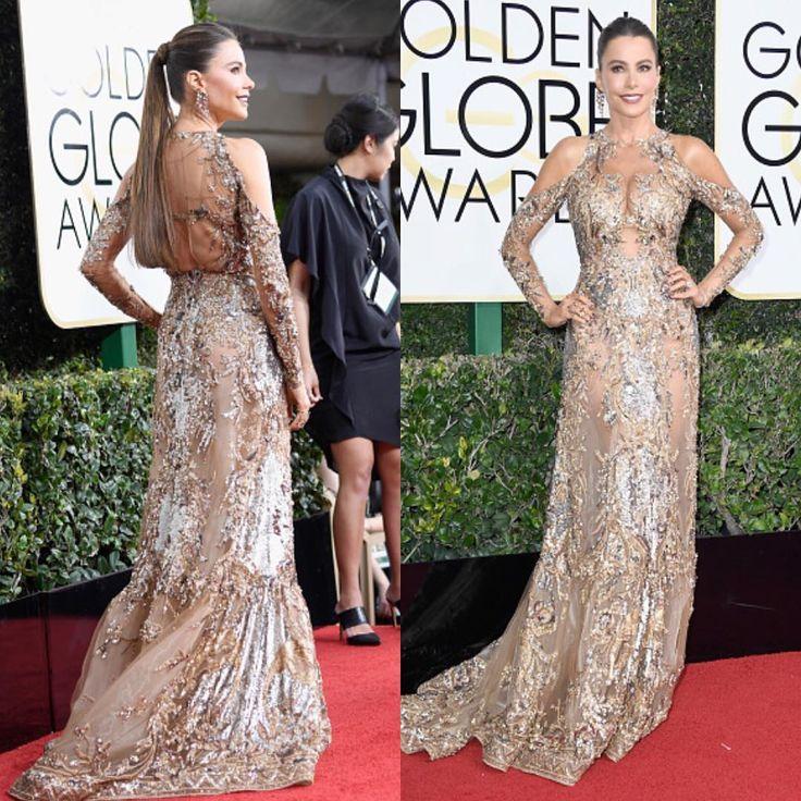 Sofie Vergara no Golden Globes 2017