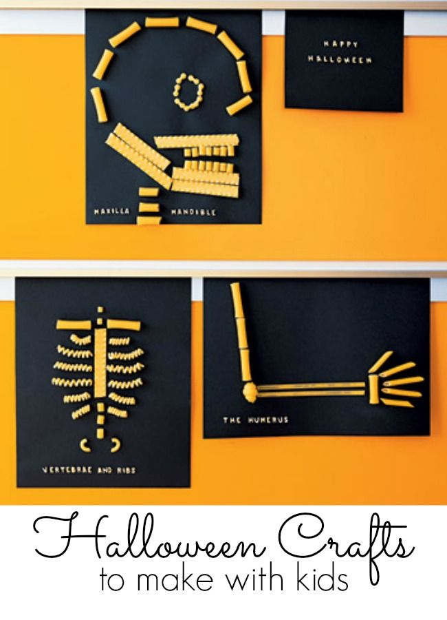 Halloween crafts for kids - we do all of these every single year - so much fun!