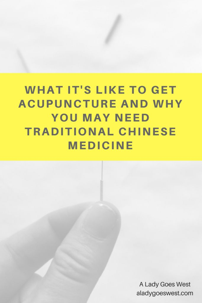 What it's like to get acupuncture and why you may need Traditional Chinese Medicine by A Lady Goes West #acupuncture #fertility #infertility