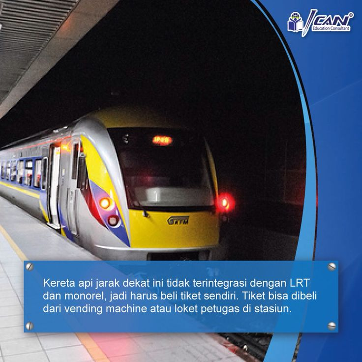 KLM Komuter di Malaysia, cukup murah dan cocok bagi pelajar yg kuliah di Malaysia.