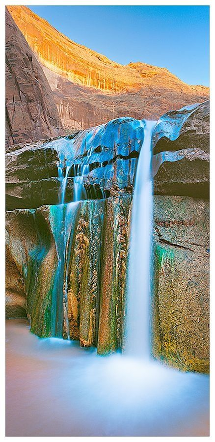 Water Falls at Coyote,Utah