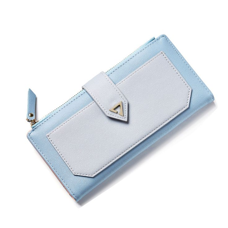 Luxury Brand Women Wallet PU Leather Female Handy Clutch Coin Purse Designed Original Evening Bags Wallets for Girls Sac A Long