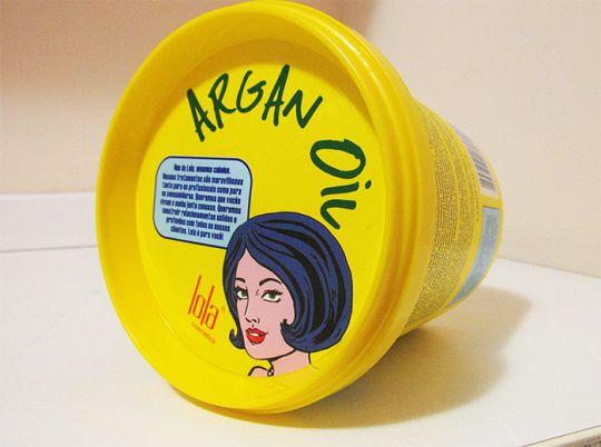 Resenha da Máscara Reconstrutora de Argan - Lola Cosmetic.