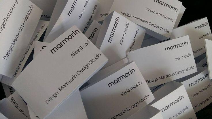 Gondoltátok volna, hogy  a Marmorinnál közel 150 féle mosogató, és 200 féle mosdó közül tudtok válogatni? ;)  www.marmorin.hu